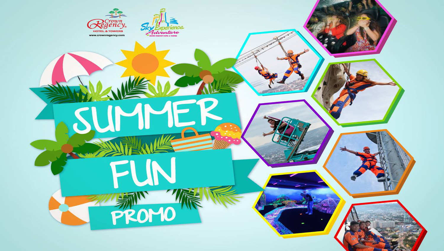 Sky Experience Adventure's Summer Fun promo